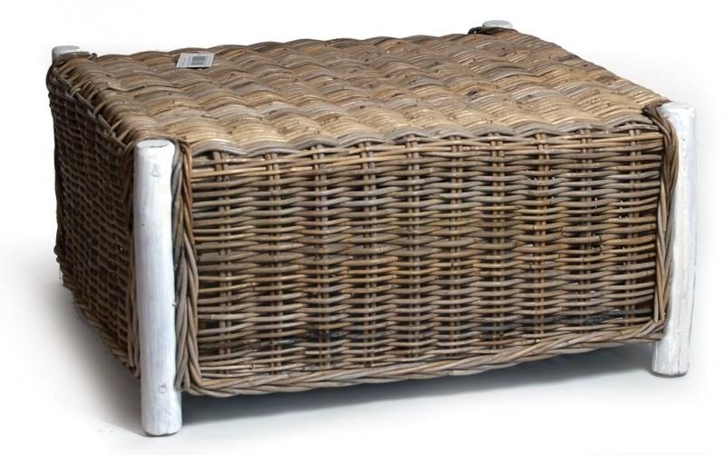 bambus tisch aus gartenm bel kollektion bali 75x75x37 cm. Black Bedroom Furniture Sets. Home Design Ideas