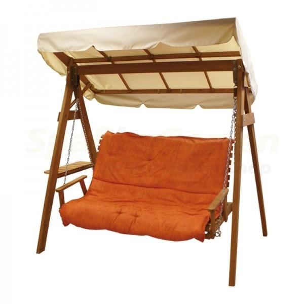 hollywood schaukel mit holzgestell. Black Bedroom Furniture Sets. Home Design Ideas