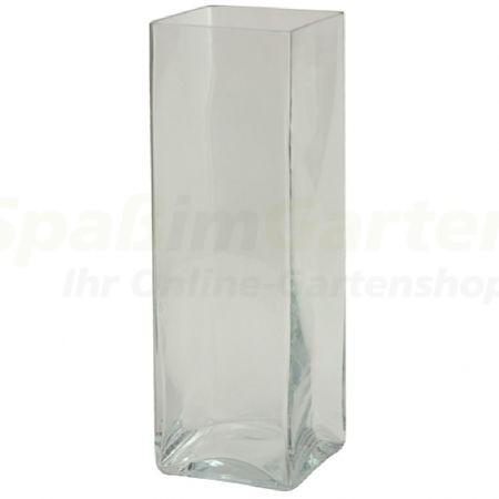 vase quadratisch aus glas. Black Bedroom Furniture Sets. Home Design Ideas
